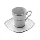 Tasse à café 100ml vec soucoupe Astrance en porcelaine