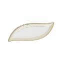 Ravier 29 cm en porcelaine, service complet de vaisselle en porcelaine
