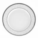 Assiette plate ronde à aile 27 cm Montbretia en porcelaine