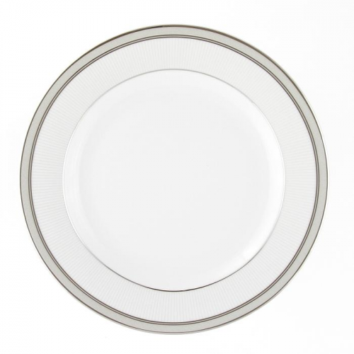 assiette plate ronde aile 21 cm en porcelaine. Black Bedroom Furniture Sets. Home Design Ideas