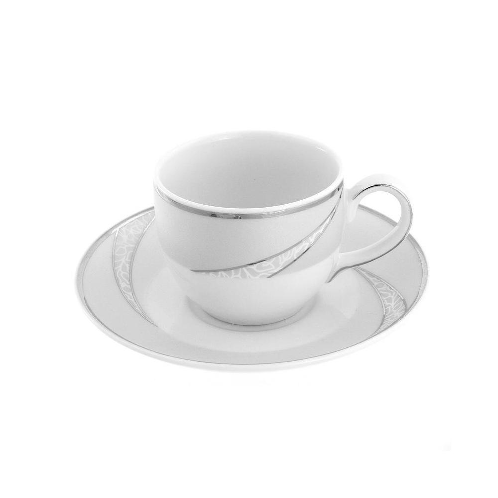 tasse caf 100 ml avec soucoupe porcelaine. Black Bedroom Furniture Sets. Home Design Ideas