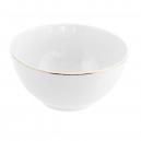 Bol 500 ml  en porcelaine, bol blanc en porcelaine, service de petit déjeuner haut de gamme