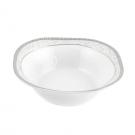Saladier carré 16 cm Oxalis en porcelaine