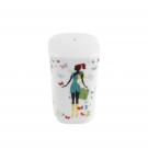 Poivrier Belle de Jour en porcelaine