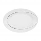 Plat ovale 29 cm , service complet de porcelaine, art de la table