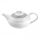 Théiere 1100 ml avec couvercle en porcelaine, service à thé, service complet en porcelaine, art de la table