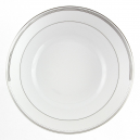 Saladier rond 26 cm Hosta en porcelaine