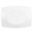 service de table en porcelaine, Plat rectangulaire 33 cm blanc