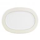 Plat ovale 37 cm en porcelaine, service de vaisselle, art de la table et porcelaine