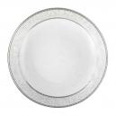 Assiette creuse calotte 22 cm Astilbe en porcelaine