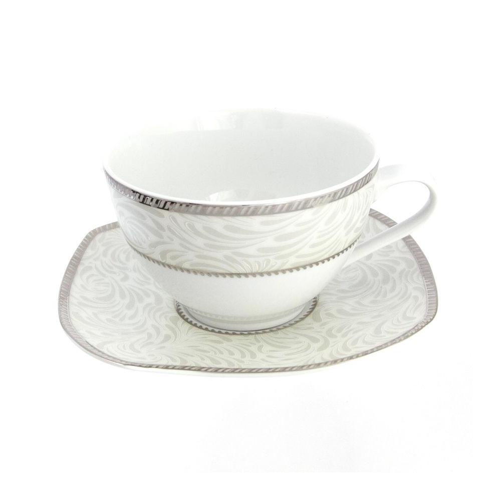 tasse assiette tasse petit d jeuner 400 ml avec soucoupe. Black Bedroom Furniture Sets. Home Design Ideas
