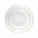 Bol 16 cm en porcelaine, service de table complet en porcelaine avec liseré d'or