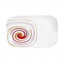 Ravier 25 cm Spirée en porcelaine