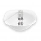 Saladier/Bol 17 cm Sparaxis en porcelaine