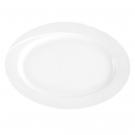 Plat 33 cm ovale en porcelaine - Catalpa