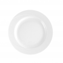 Assiette 20.5 cm plate ronde en porcelaine - Catalpa
