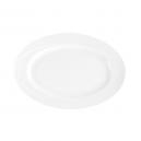 Plat 29 cm ovale en porcelaine - Catalpa