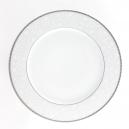 Plat rond à aile 32 cm Songe d'Automne en porcelaine
