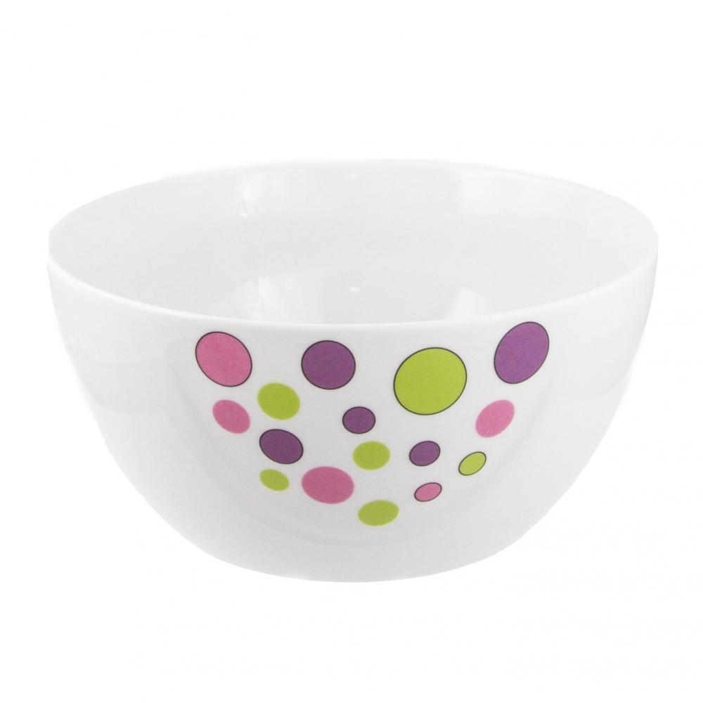 Tasse assiette saladier rond 23 cm en porcelaine - Saladier porcelaine blanche ...