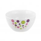 Saladier rond 17 cm en porcelaine Bulle pastel