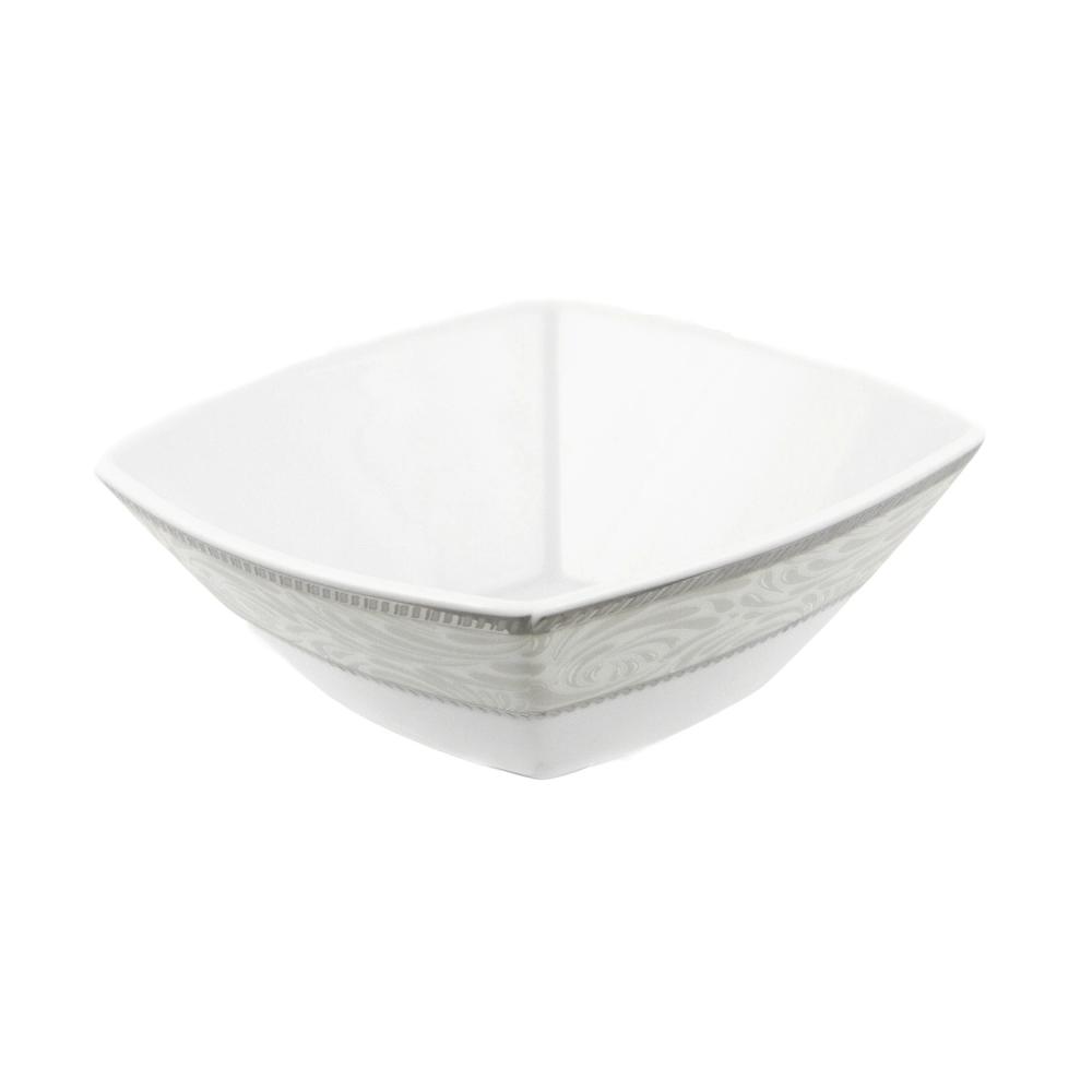 tasse assiette coupelle carr e 13 cm en porcelaine. Black Bedroom Furniture Sets. Home Design Ideas