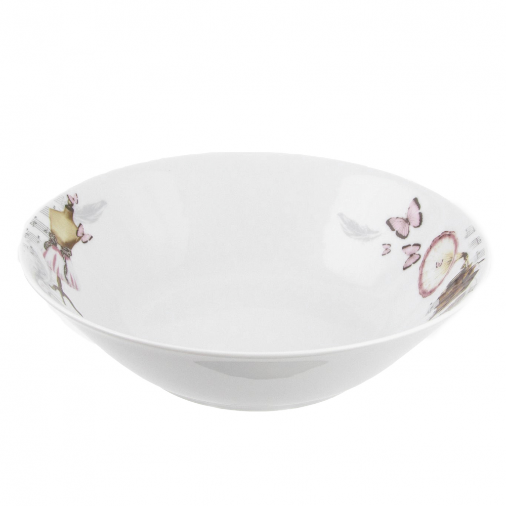 tasse assiette saladier rond 26 cm symphonie des papillons en porcelaine. Black Bedroom Furniture Sets. Home Design Ideas