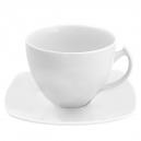 service complet, Tasse à thé 400 ml avec soucoupe en porcelaine