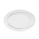 Ravier 24 cm Pierre de Lune en porcelaine, petit plat en porcelaine, service de vaisselle complet