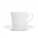 Tasse à thé 220 ml avec soucoupe Viorne en porcelaine