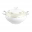 Soupière 2.7 l avec couvercle Corète du Japon en porcelaine