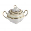 service complet en porcelaine, Sucrier 300 ml en porcelaine Impression Chatoyante