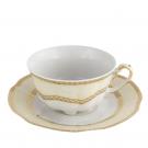 service complet en porcelaine, art de la table, Tasse à thé 220 ml avec sa soucoupe Impression Chatoyante