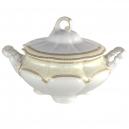 Soupière 2800 ml en porcelaine - Impression Chatoyante