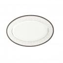 service de vaisselle, Ravier 23 cm en porcelaine