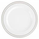art de la table, service de table complet en porcelaine, vaisselle galon or, assiette de présentation, plat de service rond