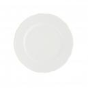 art de la table, service de table complet en porcelaine blanche, vaisselle galon or, assiette dessert en porcelaine