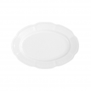 service de table complet, vaisselle en porcelaine blanche, ravier ovale 24 cm, art de la table