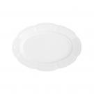 service de table complet, vaisselle en porcelaine blanche, ravier ovale 24 cm, art de la table