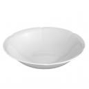 service de table complet, vaisselle en porcelaine blanche, saladier rond 23 cm, art de la table
