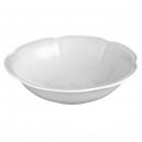 service de table complet, vaisselle en porcelaine blanche, saladier rond 26 cm, art de la table