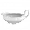 service de table complet, vaisselle en porcelaine blanche, saucière 500 ml, art de la table