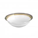 bol, coupelle, service de table complet, vaisselle en porcelaine blanche galon or, galon platine, art de la table, style ancien