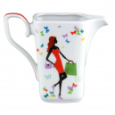 art de la table, service de vaisselle en porcelaine, crémier 300 ml Jolie Demoiselle