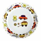 art de la table, set en porcelaine pour enfant, assiette creuse 19 cm en porcelaine Souvenirs d'enfance, motif voiture nounours