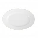 Plat ovale 33 cm en porcelaine Gracieuse Innocence
