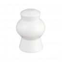 Salière en porcelaine blanche Révérence Nivéenne, service de table porcelaine