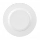 Assiette plate ronde à aile 27 cm Révérence Nivéenne en porcelaine