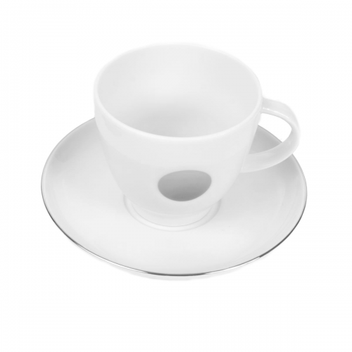 tasse assiette tasse th caf 200 ml avec soucoupe ronde forsythia en porcelaine. Black Bedroom Furniture Sets. Home Design Ideas