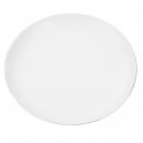 Assiette plate 27 cm Forsythia en porcelaine