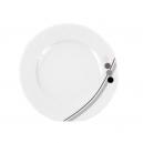 Assiette plate 27 cm Hémérocalle